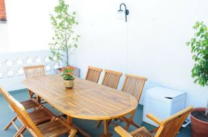 Terrasse:table
