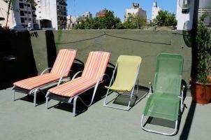 Terrasse:chaises